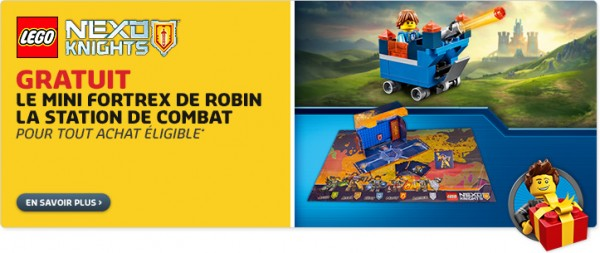 Shop@Home LEGO promotion Nexo Knights 5004389 30372