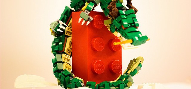 Dragon LEGO brique