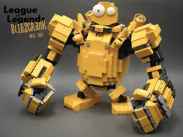 LEGO Blitzcrank League of Legends