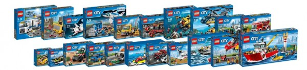 sets LEGO City 2016