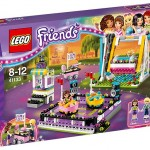 LEGO Friends Amusement Park Bumper Cars (41133) box