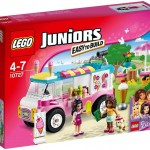 LEGO Juniors Friends Emma's Ice Cream Truck (10727) box