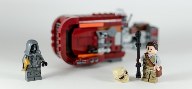 REVIEW LEGO 75099 Star Wars Rey's Speeder - HelloBricks