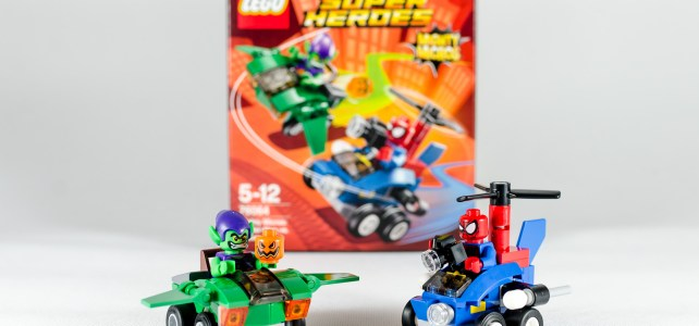 REVIEW LEGO 76064 Mighty Micros Spider-Man vs Green Goblin