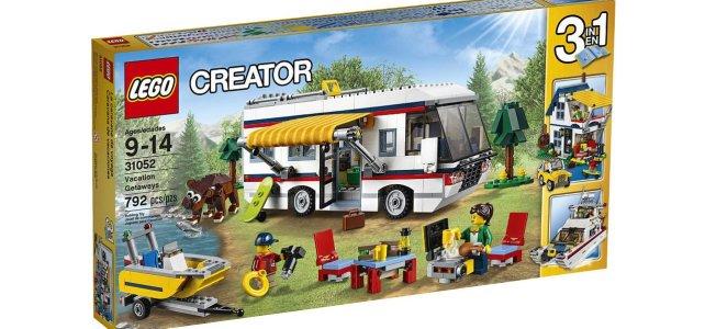 Nouveautés LEGO Creator Vacation Getaways (31052)