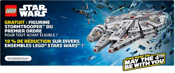 LEGO Star Wars May the 4th be with you