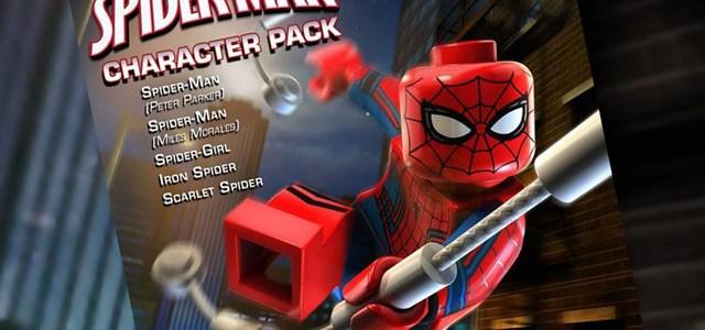 DLC LEGO Marvel Avengers Character Pack Spider-Man