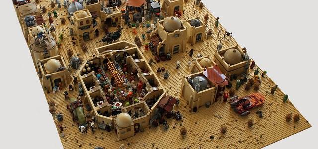 Diorama Mos Eisley : et ce n'est que le début…