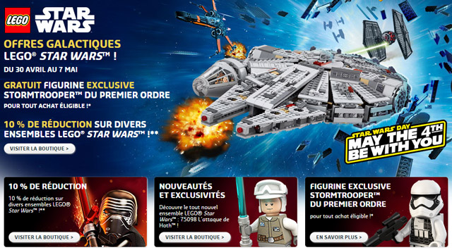 LEGO Star Wars May the 4th 2016