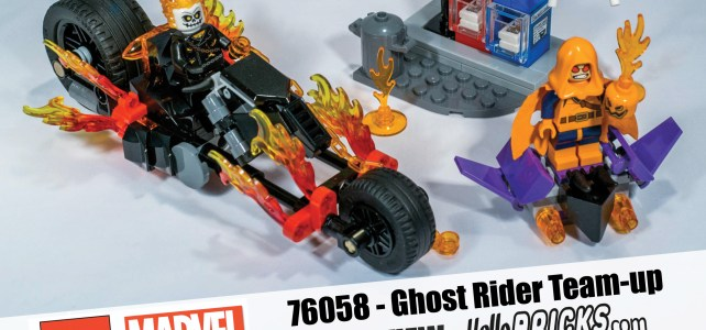 Lego Ghost Rider review 76058