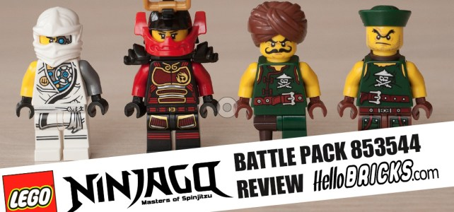 REVIEW LEGO 853544 Battle Pack Ninjago