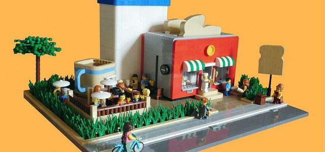 LEGO MOC La boulangerie des rêves