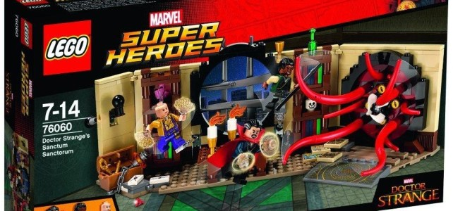 LEGO Marvel 76060 Doctor Strange's Sanctum Sanctorum box