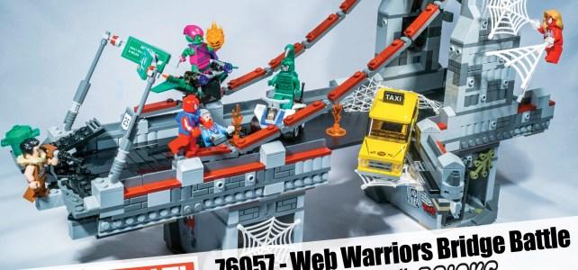 LEGO MARVEL SPIDERMAN BRIDGE 76056