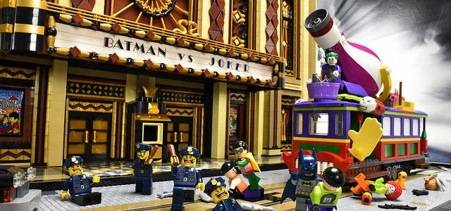 Batman vs. le Joker Gotham Theater