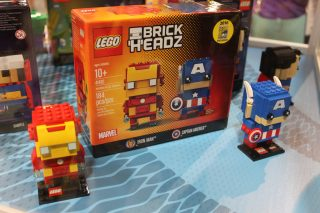 LEGO BrickHeadz Iron Man & Captain America (41492)