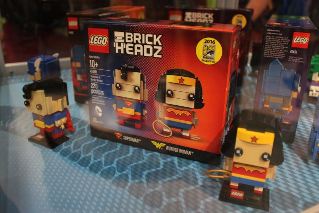 LEGO BrickHeadz Superman & Wonder Woman (41490)