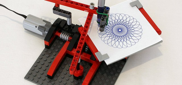 LEGO Spirographe