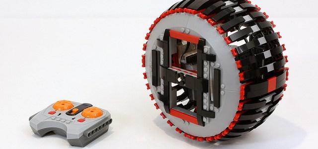 Roue LEGO télécommandée