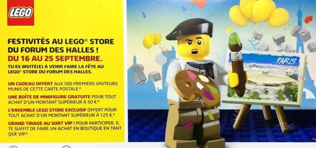 Grand Opening LEGO Store Forum des Halles