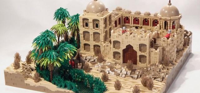 LEGO Forteresse et Oasis