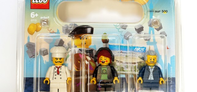 REVIEW LEGO Pack de minifigs Grand Opening LEGO Store Forum des Halles