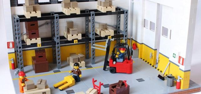 La vie en entrepôt