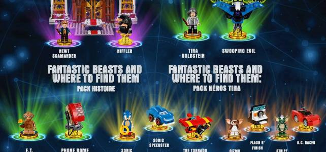LEGO Dimensions : la nouvelle vague packs d'extension est disponible