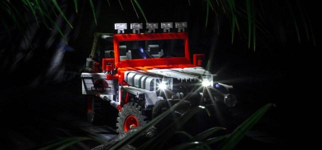 Jeep LEGO Jurassic Park
