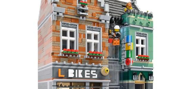 LEGO Modular boutique vélos
