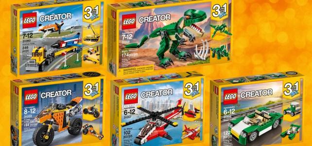 Nouveautés LEGO Creator 2017