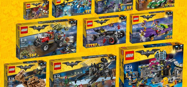 The LEGO Batman Movie sets