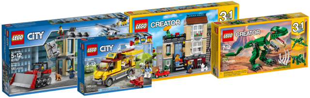 nouveaut s lego city 2017 et lego creator 2017 disponibles hellobricks blog lego. Black Bedroom Furniture Sets. Home Design Ideas