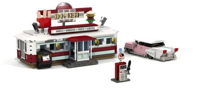 LEGO Ideas 1950's Diner
