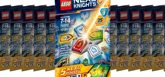 new LEGO Nexo Knights Combo Nexo Powers (70372)