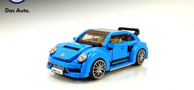 LEGO Volkswagen Beetle… version 2017