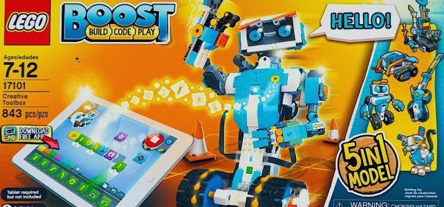 LEGO Boost programmation et robotique pour les plus jeunes