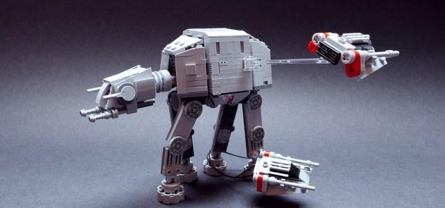 LEGO Star Wars MOC AT-AT vs Snowspeeders