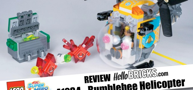 REVIEW LEGO 41234 - DC SuperHero Girls Bumblebee