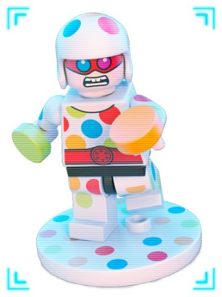 The LEGO Batman Movie - Polka Dot Man