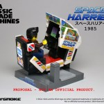 LEGO Ideas SEGA Classic Arcade Machines Space Harrier