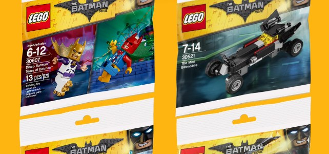 Polybags The LEGO Batman Movie : le point sur les offres actuelles