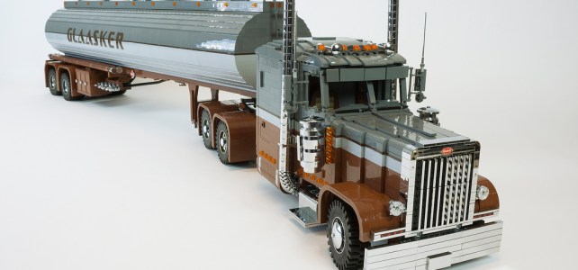 Camion Peterbilt 379 et Polar Tanktrailer