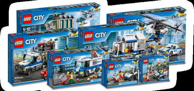LEGO City Police 2017