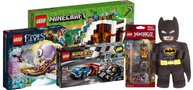 Nouveautés LEGO Mars 2017