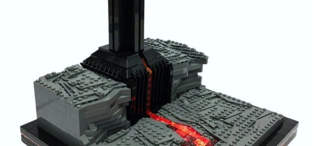 Star Wars Rogue One Darth Vader Castle on Mustafar
