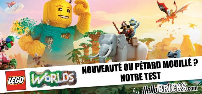 Test LEGO Worlds