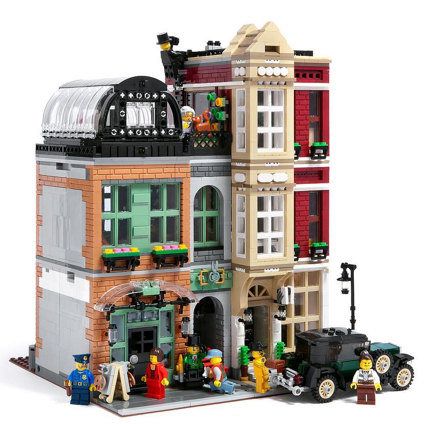 Minneapolis Garage Builders News Construction Blog: LEGO Modular Bootblack Street : Il A Tout D'un Vrai