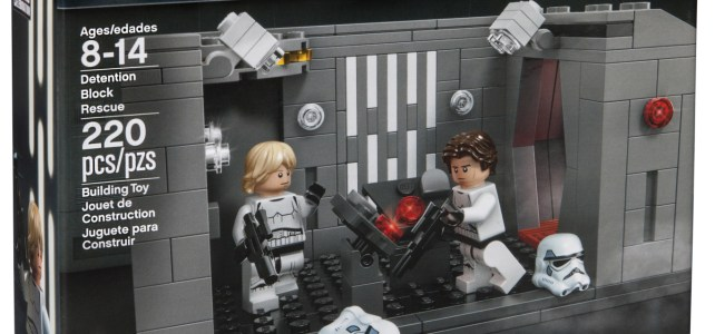 LEGO Star Wars Celebration 2017 LEGO Detention Block Rescue