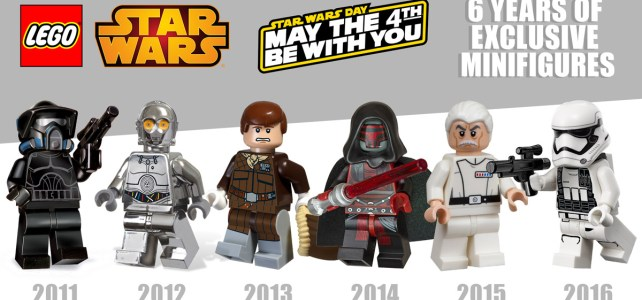 LEGO Star Wars May the 4th minifigs exclusives